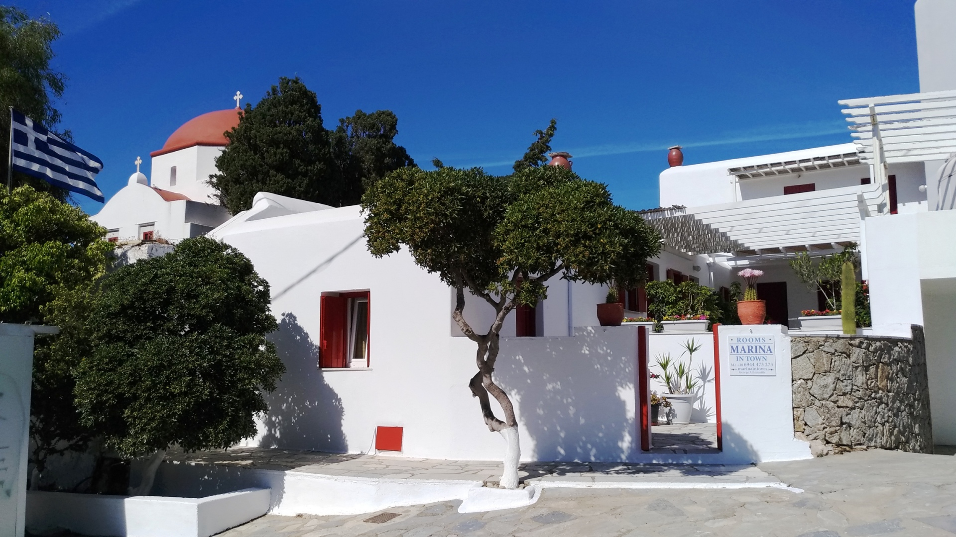 Mykonos Marina In Town - Rooms for rent - Slider